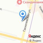 Мастерская по ремонту обуви и одежды на карте Санкт-Петербурга