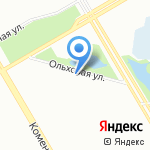 Celesta на карте Санкт-Петербурга