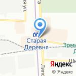Сканди Мода на карте Санкт-Петербурга