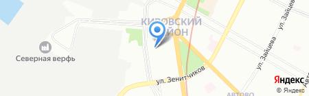 FC Group на карте Санкт-Петербурга