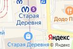 Схема проезда до компании Магазин трикотажной продукции в Санкт-Петербурге