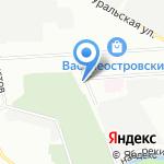 Опытное производственное предприятие спортивной индустрии на карте Санкт-Петербурга