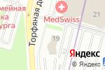 Схема проезда до компании Космонавт в Санкт-Петербурге