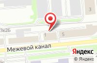 Схема проезда до компании Amaday-Group в Санкт-Петербурге