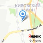 МТТО СПБ на карте Санкт-Петербурга