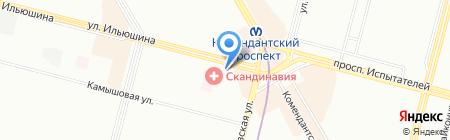 Здоровый мёд на карте Санкт-Петербурга