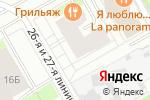 Схема проезда до компании Мособлбанк, ПАО в Санкт-Петербурге