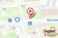 Схема проезда до компании Юнисов групп в Санкт-Петербурге