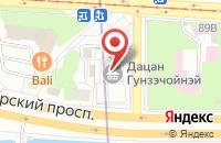 Схема проезда до компании Киновидеостудия Малых Народов в Санкт-Петербурге