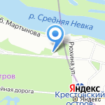 Лимонтир на карте Санкт-Петербурга