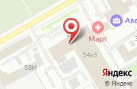Схема проезда до компании Транстест в Санкт-Петербурге