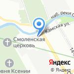 Отвага на карте Санкт-Петербурга