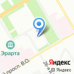 Мособлбанк на карте Санкт-Петербурга