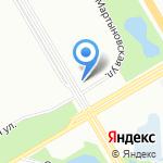 Светофор на карте Санкт-Петербурга