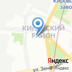 Примавера на карте Санкт-Петербурга