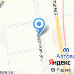 Городская поликлиника №23 на карте Санкт-Петербурга