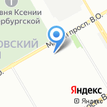 Группа Кронштадт на карте Санкт-Петербурга