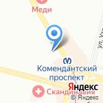 Почтовое отделение №372 на карте Санкт-Петербурга