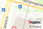 Схема проезда до компании ДЕФА в Санкт-Петербурге