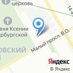 Галерея Камня на карте Санкт-Петербурга