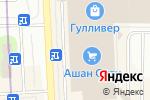 Схема проезда до компании Palmetta в Санкт-Петербурге