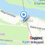 Дом-Наоборот на карте Санкт-Петербурга