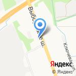 Синяя линия на карте Санкт-Петербурга