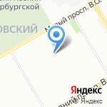 Моя вода на карте Санкт-Петербурга