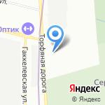 А.мега на карте Санкт-Петербурга