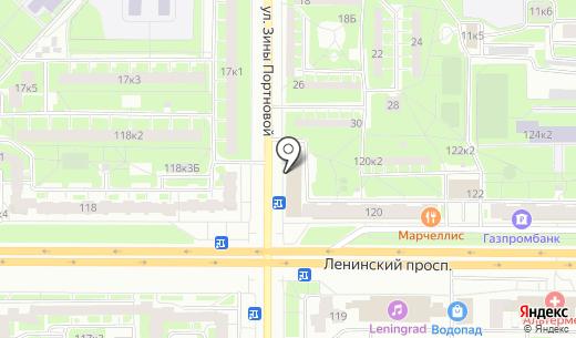 Магазин нижнего белья. Схема проезда в Санкт-Петербурге