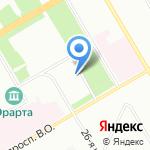 Бурбон Балтик на карте Санкт-Петербурга