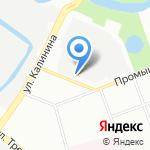 ПетВес на карте Санкт-Петербурга