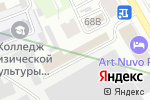 Схема проезда до компании Блеск в Санкт-Петербурге