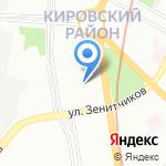 Детский сад №12 комбинированного вида на карте Санкт-Петербурга