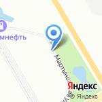 Весна на карте Санкт-Петербурга