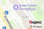 Схема проезда до компании НБ Траст, ПАО в Санкт-Петербурге