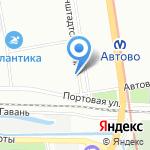 БЕЛЫЙ БОКС на карте Санкт-Петербурга