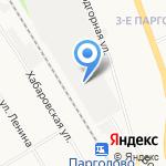 Гранит Логистик на карте Санкт-Петербурга