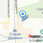 ГленСтрой на карте Санкт-Петербурга