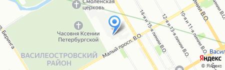Альта-Росс на карте Санкт-Петербурга