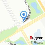 Феникс на карте Санкт-Петербурга