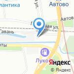 Магазин рыбной продукции на карте Санкт-Петербурга