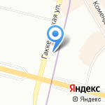 Спасение на карте Санкт-Петербурга