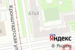 Схема проезда до компании АльфаГлавСнаб в Санкт-Петербурге