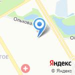 Белогорье на карте Санкт-Петербурга