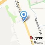 Фураж на карте Санкт-Петербурга