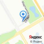 Исток сервис на карте Санкт-Петербурга