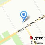 Приборы управления на карте Санкт-Петербурга
