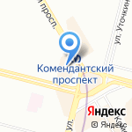 Плюс банк на карте Санкт-Петербурга