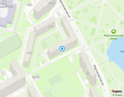 Жилищно-строительный кооператив «ЖСК 1333» на карте Санкт-Петербурга